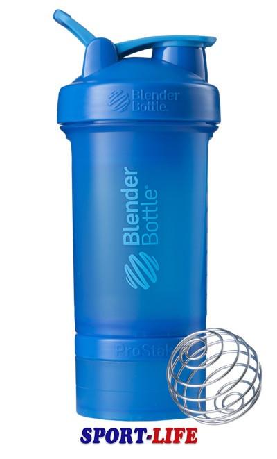 Шейкер бутылка BLENDERBOTTLE ProStak 650ml синий