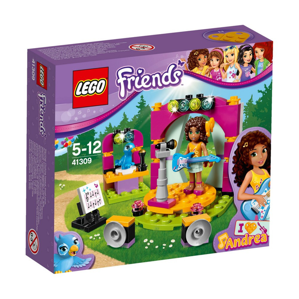 Lego Friends Музыкальный дуэт Андреа 41309