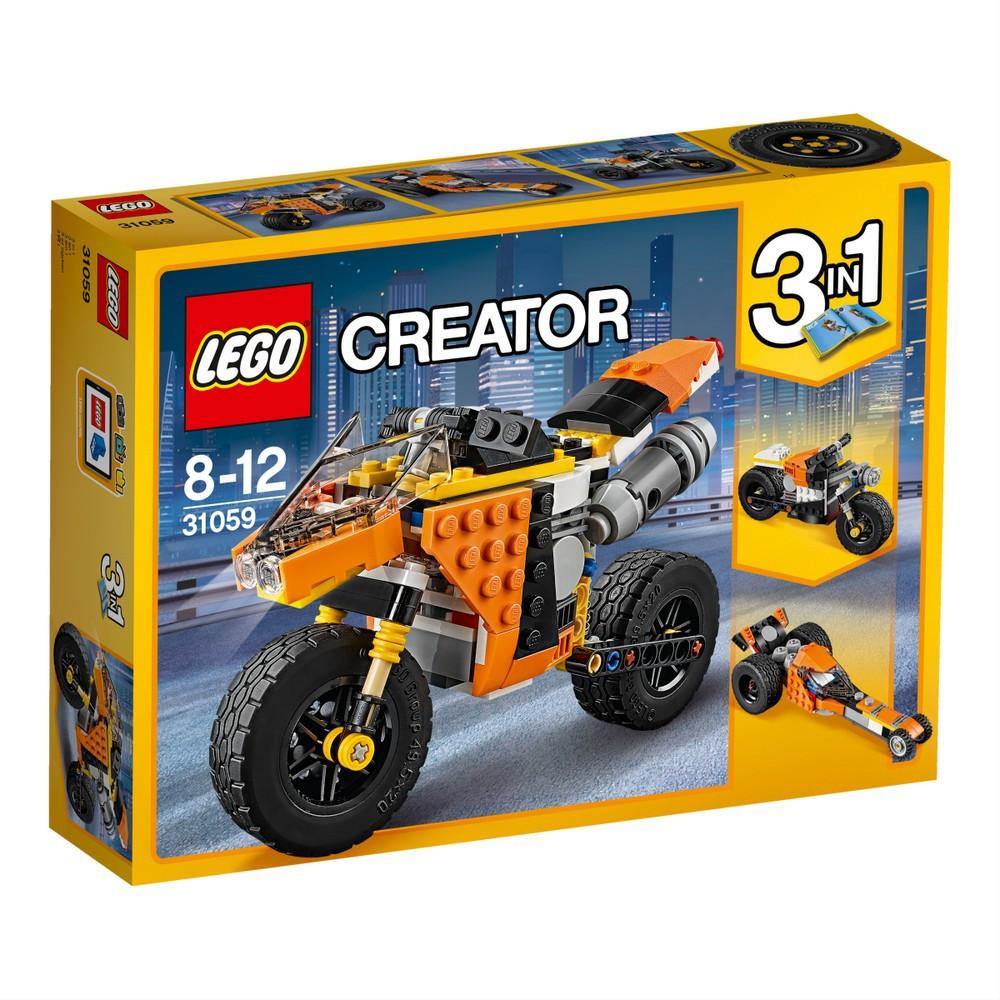 Lego Creator Оранжевый мотоцикл 31059