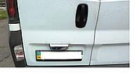 Накладка на багажник для Nissan Primastar, Ниссан Примастар, 2 двери