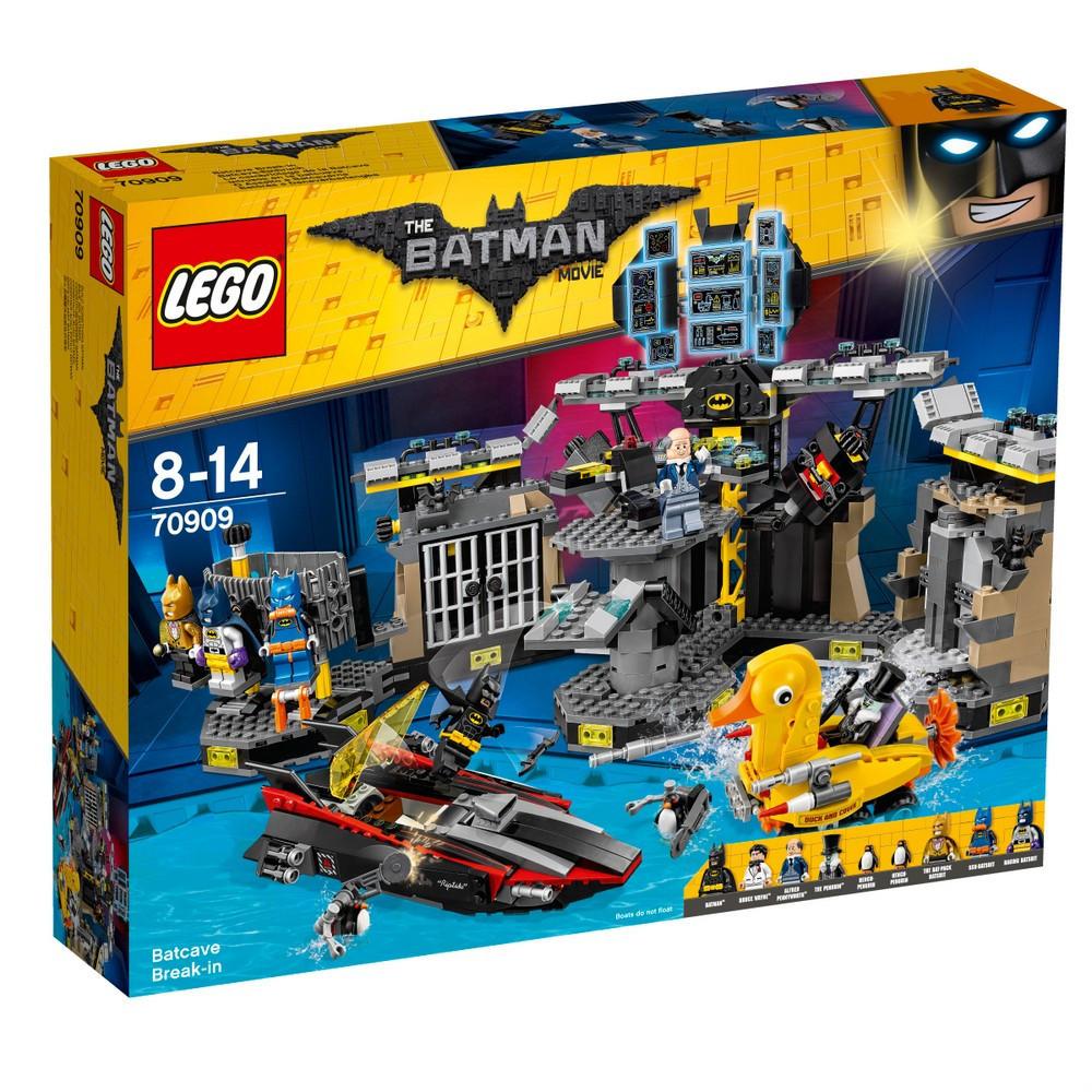 Lego Batman Movie Нападение на Бэтпещеру 70909