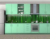 Кухонный фартук текстуры (самоклейка наклейка виниловая пленка скинали для кухни) 60 х 300 см.