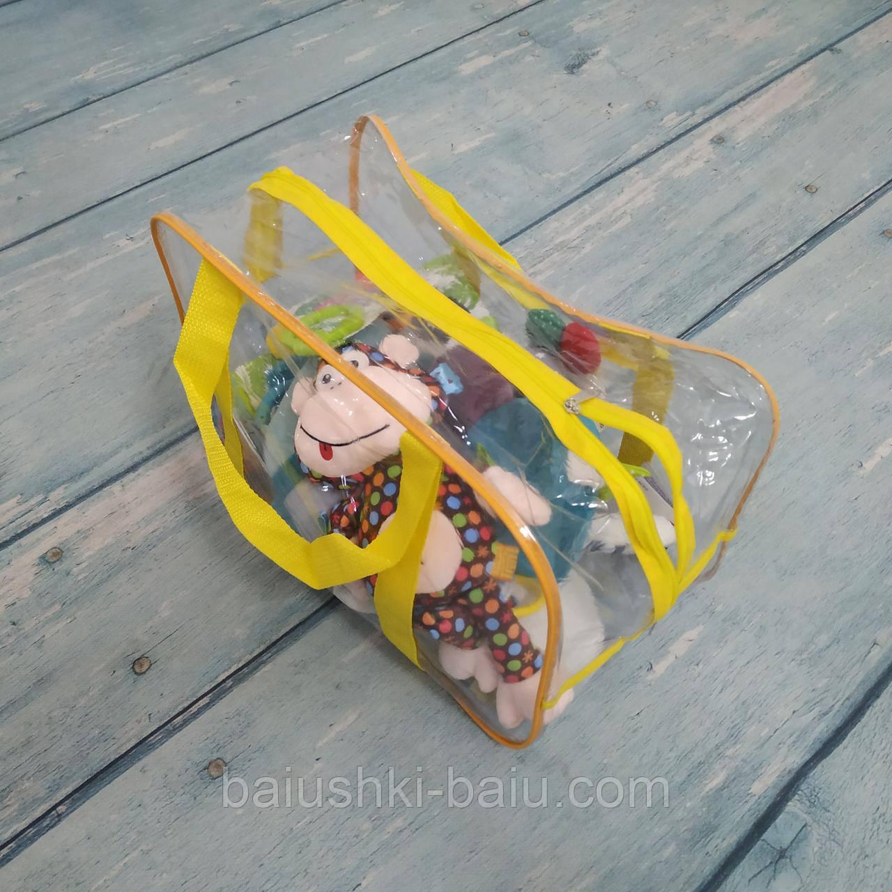Прозрачная сумка в роддом/хранения игрушек, вещей