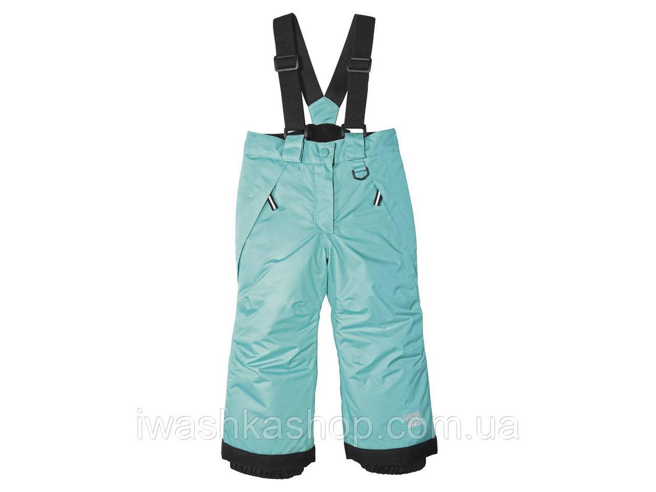 Зимние термо штаны на девочек 12 - 24 месяца, р. 86 - 92, Lupilu