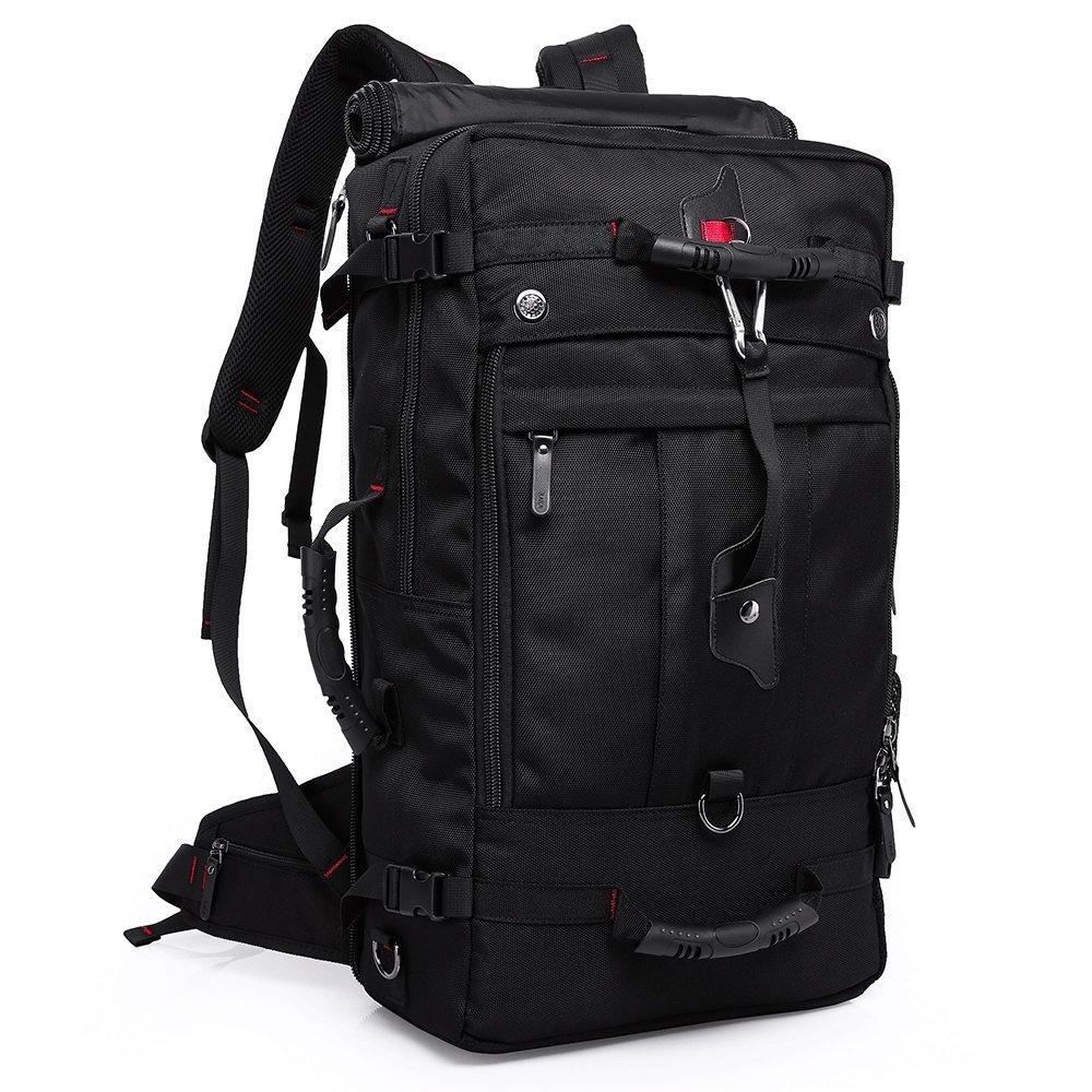 Туристический рюкзак-сумка-трансформер Kaka 2070, с кодовым замком, 50л