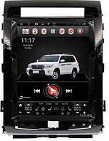 Штатная   магнитола Toyota Land Cruiser 200 Тесла 12, 1 дюйм Андроид 7.0 Android, фото 1