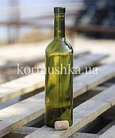 Винная бутылка 0,75 л (зеленое стекло)