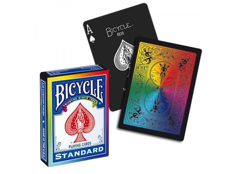 Карты игральные | Bicycle Rainbow Black