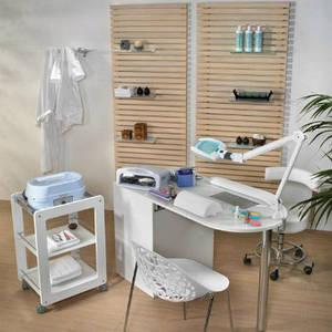 обладнання та матеріали для манікюру, педикюру