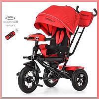 Трехколесный велосипед. Детский, пульт, МР3, цвет красный.Turbo Trike M 4060 -1.