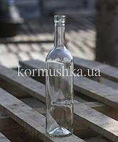 Винная бутылка 0,75 л (прозрачное стекло)