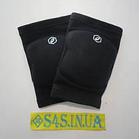 Волейбольные наколенники НДС, официал, сертификат, Asics Gel Kneepad, размер S, чёрные