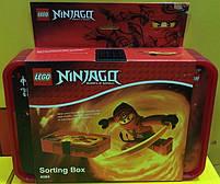 Бокс Лего Ниндзяго для зберігання ігрових фігурок (з перегородками) 40841733, фото 2