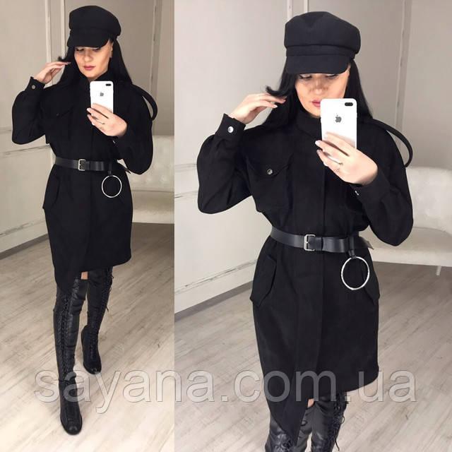 модное женское платье миди