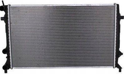 Радиатор Skoda Octavia 1.2 TSI TFSI 07-> 650*450