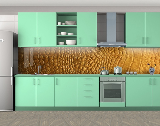 Наклейка на кухонный фартук, 60 х 300 см. С защитной ламинацией