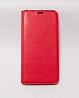 Чехол-книжка для смартфона Huawei Y5 2018 (DRA-L21) красная MKA, фото 1