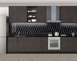 Кухонный фартук на кухню (защитная наклейка виниловая пленка скинали для кухни) 60 х 300 см., фото 3