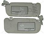 Козырёк солнцезащитный для Hyundai Grandeur TG 2005-2011 852023L000QS + 852013L000QS, 852023L002X6