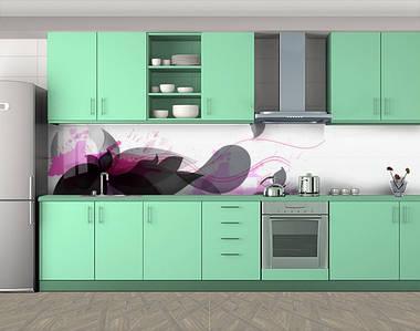 Стеновая панель для кухни с фотопечатью, 60 х 300 см. С защитной ламинацией
