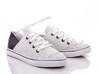 Кроссовки женские Victoria JN09 white-black (36-41) - купить оптом на 7км в одессе