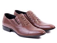 Элегантные кожаные туфли ETOR для настоящего мужчины