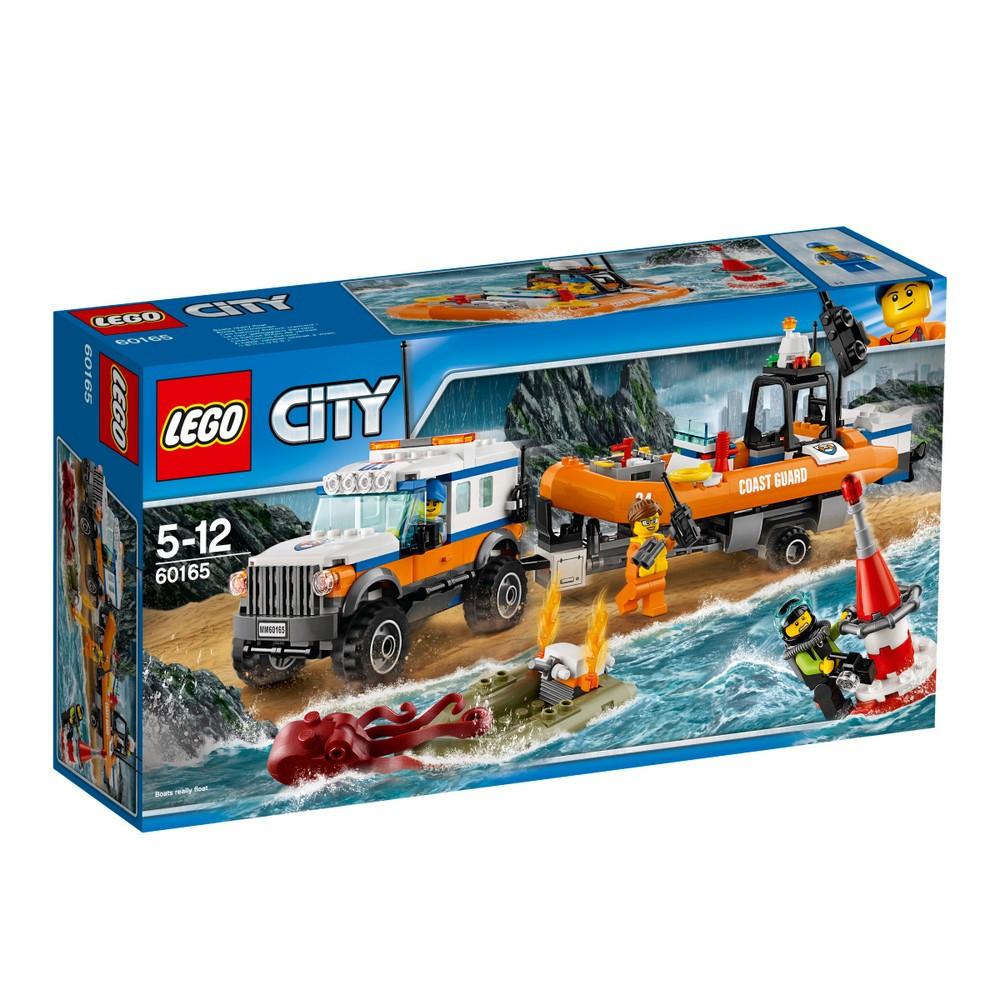 Lego City Внедорожник 4х4 команды быстрого реагирования 60165