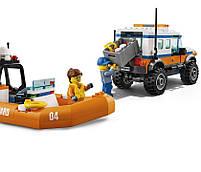 Lego City Внедорожник 4х4 команды быстрого реагирования 60165, фото 5