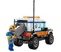 Lego City Внедорожник 4х4 команды быстрого реагирования 60165, фото 7