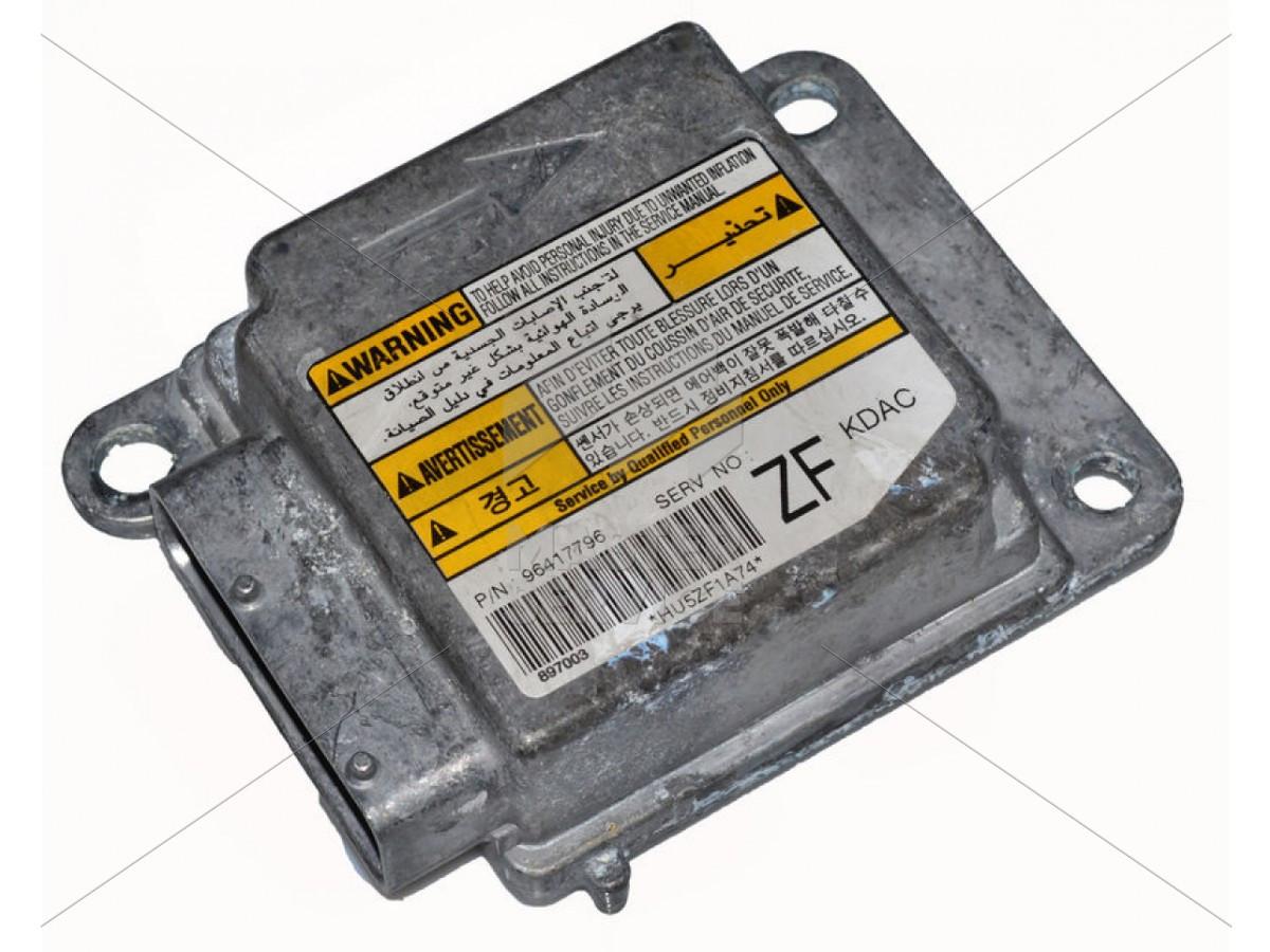 Блок управления AIRBAG для Chevrolet Tacuma 2004-2008 96417796