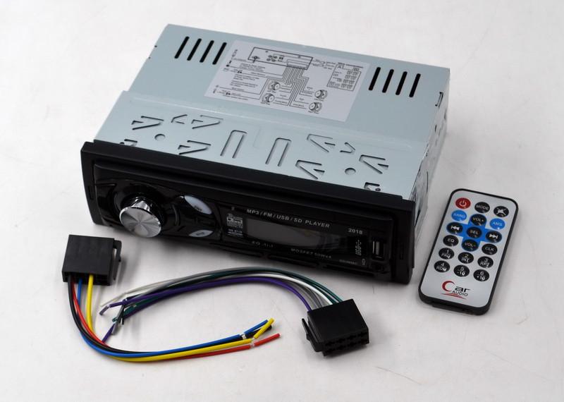 Автомагнитола  2018 mp3 бюджетная не съемная панель SD / MMC / USB