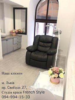 Педикюрное SPA кресло-реклайнер Ontario, Лампа-лупа 6017H LED-3 (5) с регулировкой яркости