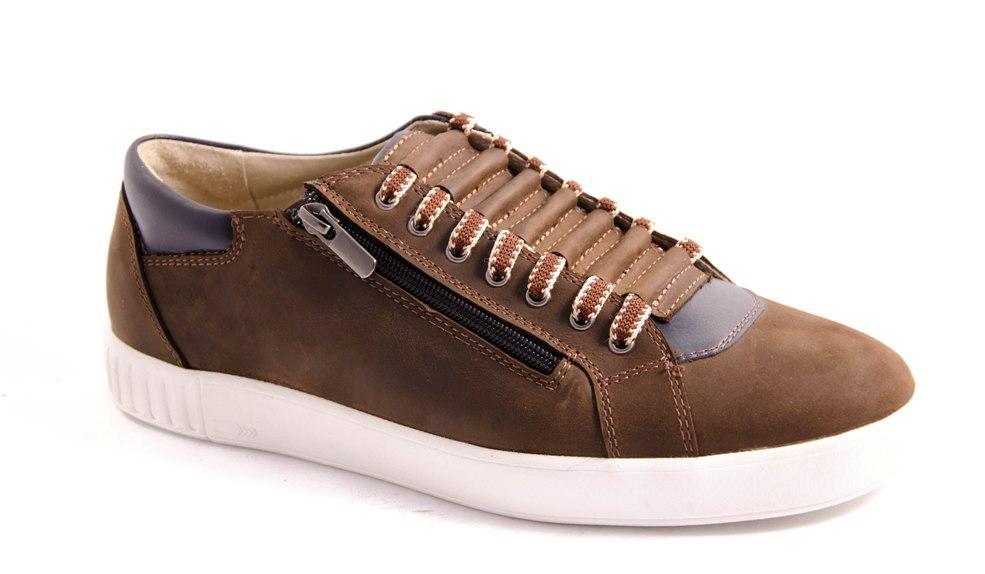 Кеды мужские коричневые Romani 5400106 р.40-45