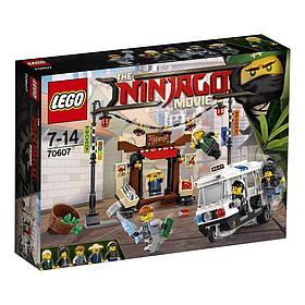 The Lego Ninjago Movie Погоня по городу Ниндзяго 70607