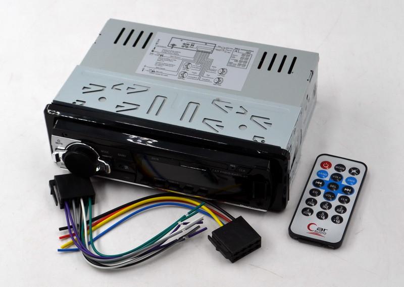 Магнітола 1 дін Піонер репліка 2019 mp3 бюджетна не знімна панель SD / MMC / USB