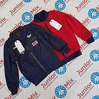 Подростковые весенние  куртки бомберы для мальчиков оптом  SEAGULLL