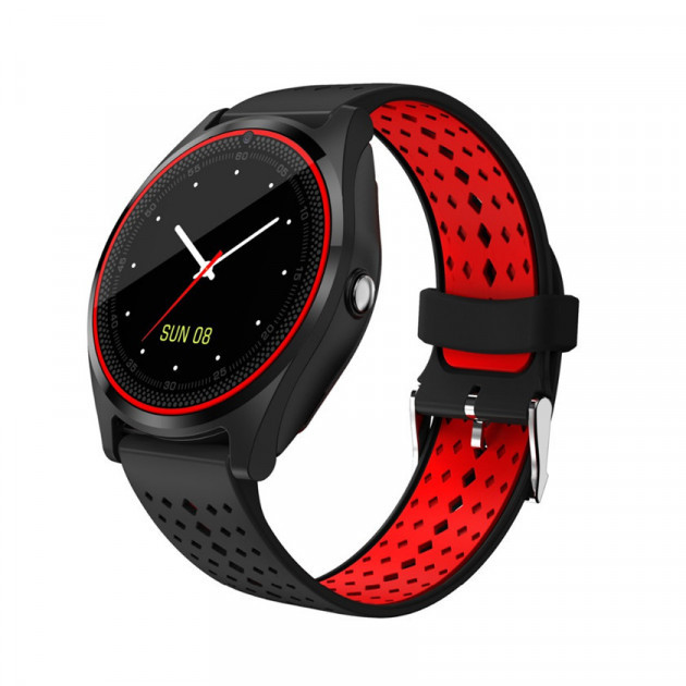 Смарт часы Smart Watch M9 Black and red Original