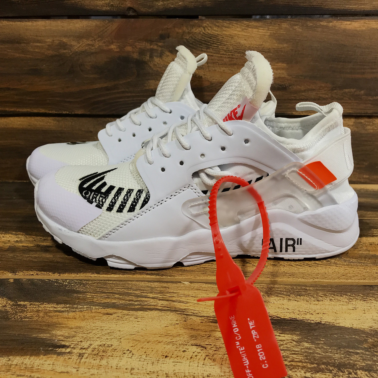 6c1f451c7b3a36 Кроссовки Женские Nike Huarache X OFF-White(реплика) 00025 — в ...
