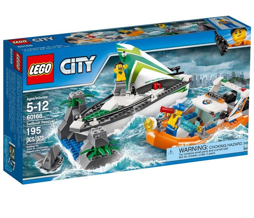 Lego City Операция по спасению парусной лодки 60168