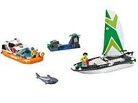 Lego City Операция по спасению парусной лодки 60168, фото 2