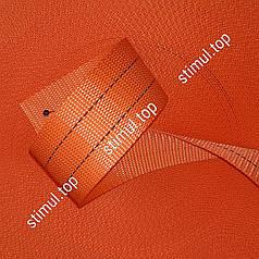 Тесьма полиэстеровая 50 мм х 50 метров 2 тонны - лента для стяжных ремней