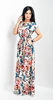 Красивое длинное летнее платье, фото 1
