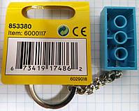 Lego Classic Брелок Бирюзовый кубик 6000117, фото 2