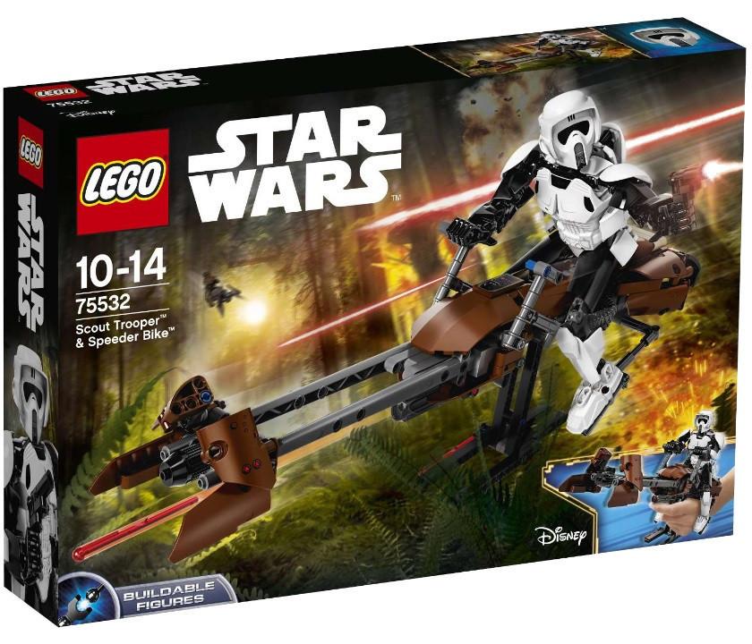 Lego Star Wars Штурмовик-разведчик на спидере 75532