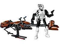 Lego Star Wars Штурмовик-разведчик на спидере 75532, фото 4