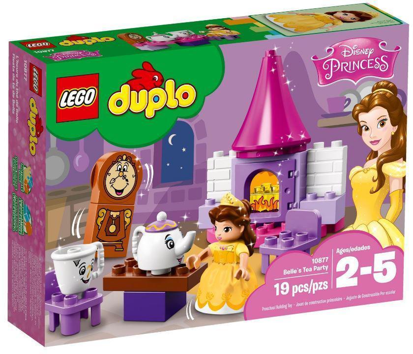 Lego Duplo Чаепитие у Белль 10877