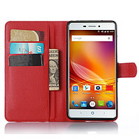 Чехол-книжка Litchie Wallet для ZTE Blade X9 / V5 Pro Красный