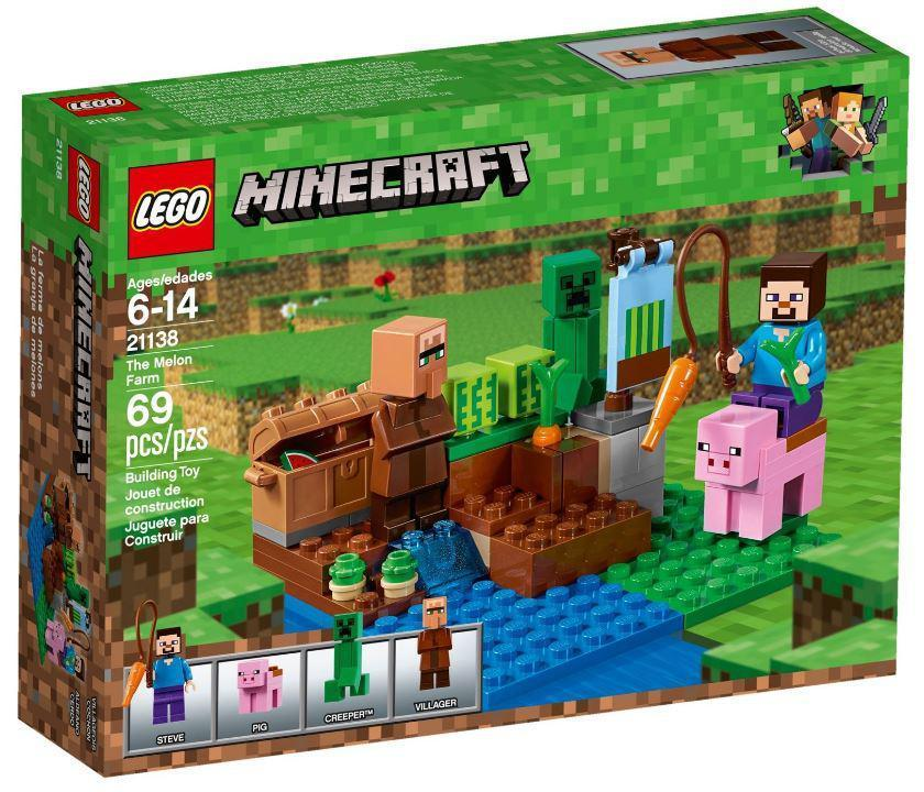 Lego Minecraft Арбузная ферма 21138