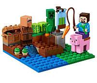 Lego Minecraft Арбузная ферма 21138, фото 4