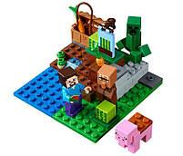 Lego Minecraft Арбузная ферма 21138, фото 5